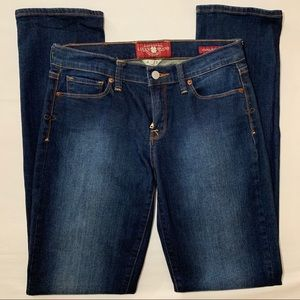 """Lucky Brand Sofia Straight Jeans Long 34"""" Inseam"""
